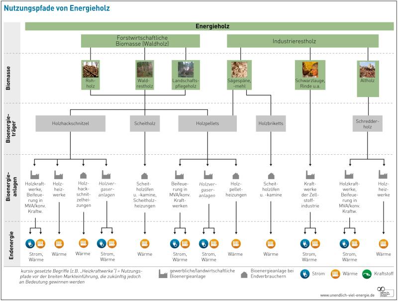Die Holzheizung und ihre Umweltbilanz