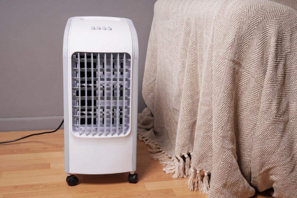 Luftkühler kommen ohne Abluftschlauch aus.