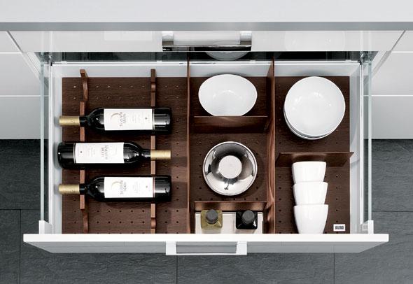 Beispiel einer Innenaussattung bei Alno Küchen