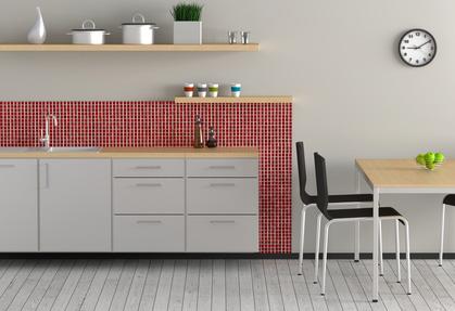 die kleine k che modern frisch und trotzdem wohnlich. Black Bedroom Furniture Sets. Home Design Ideas