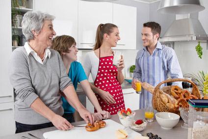 Eine moderne Küche passt sich Ihrem Leben an