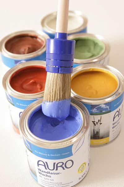 auro farben auf basis von pflanzenchemie. Black Bedroom Furniture Sets. Home Design Ideas