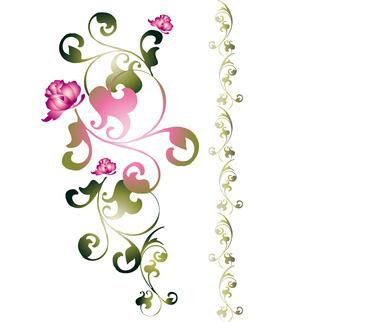 Blumentapete