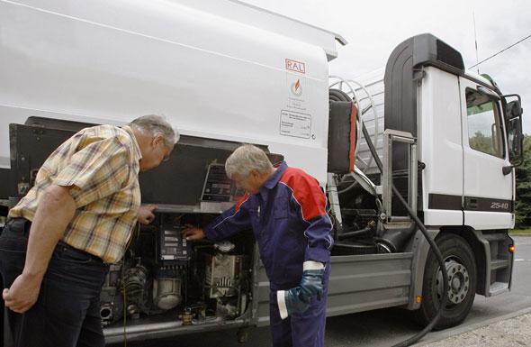 Heizölzusätze werden meist direkt bei der Betankung beigemischt