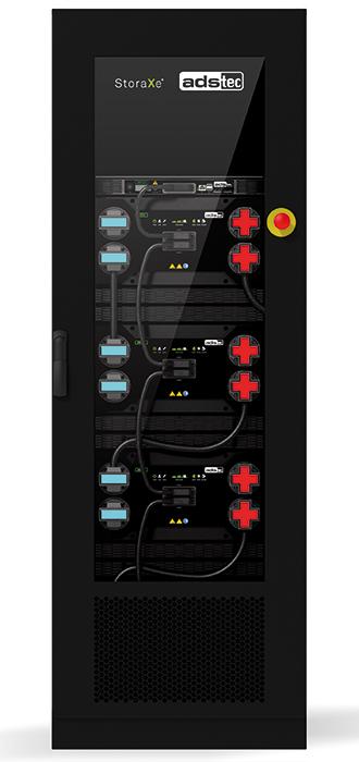 ads-tec StoraXe Batterieschrank