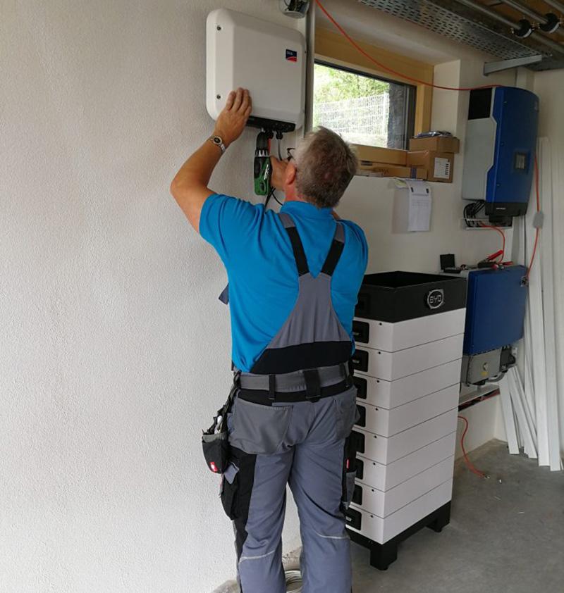 Installation einer BYD Battery Box HV