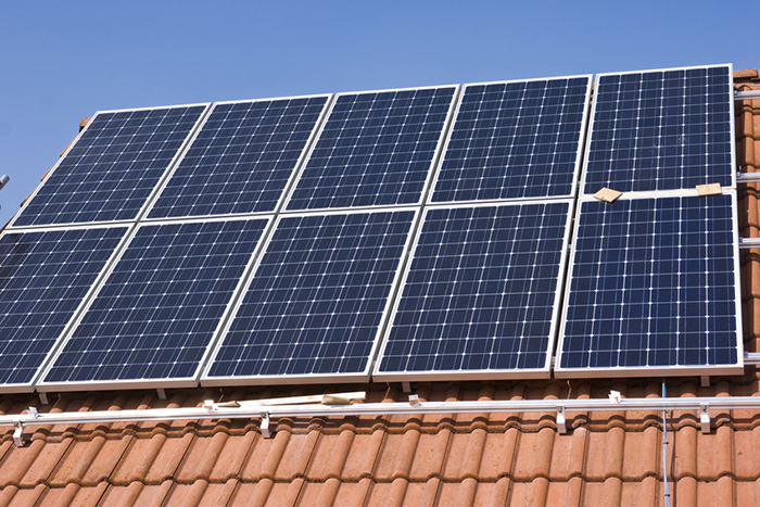 Photovoltaik-Anlage mit 2 kWp Leistung