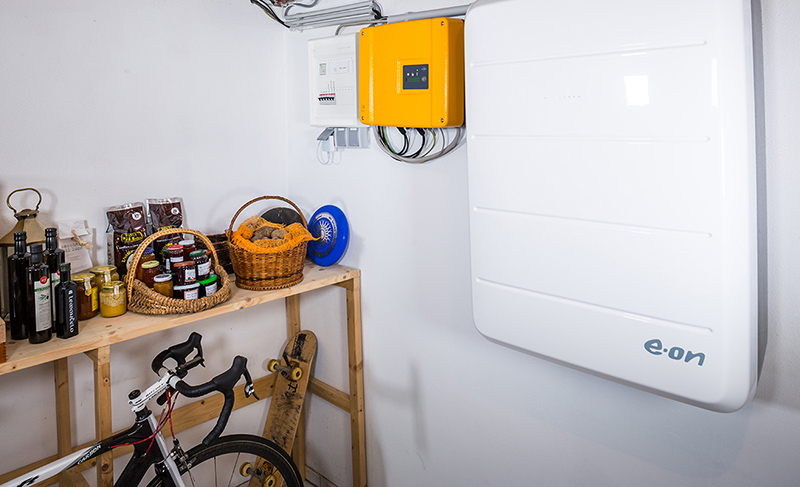 Photovoltaik Speicher Eon Aura