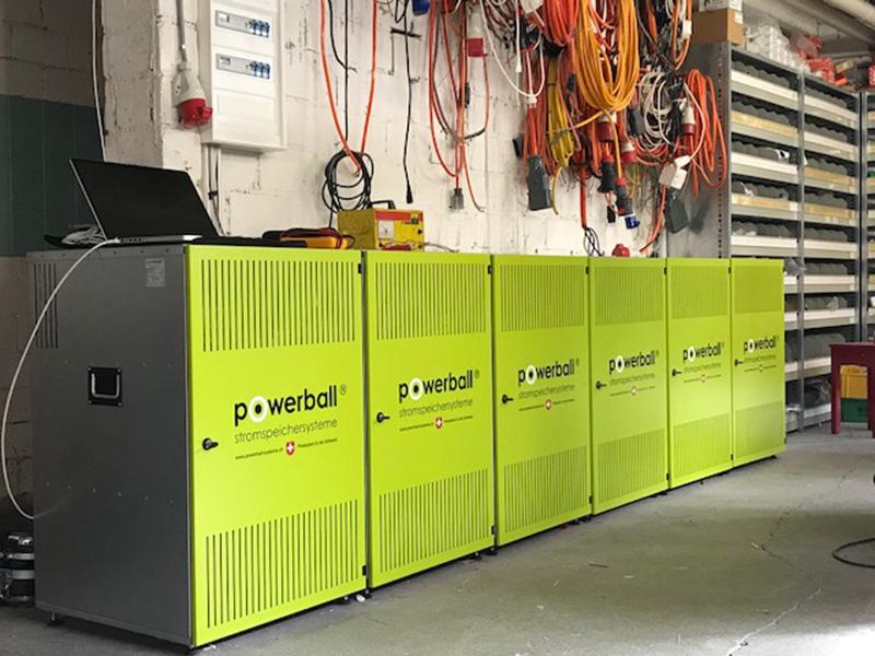 Der Powerball Stromspeicher als 48kWh Gewerbespeicher