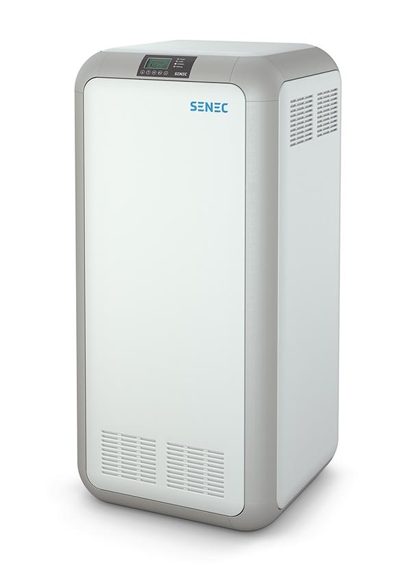 Klares Design zeichnet den SENEC.Home Stromspeicher aus.