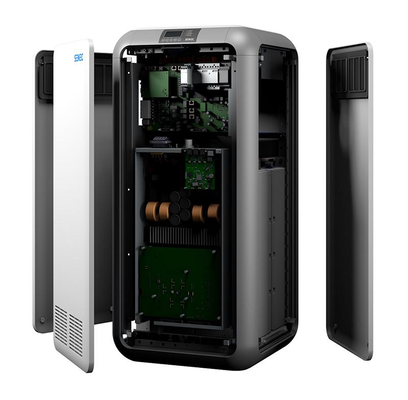 Intelligente Speichertechnik steckt unter der Haut des SENEC.Home V3.