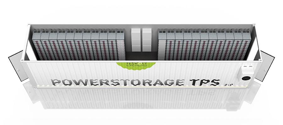 Tesvolt Megawatt-Containerspeicher TPS 2.0