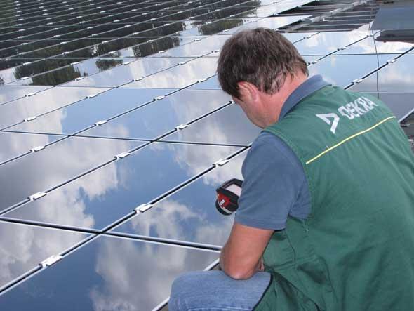 Wartungsvertrag Photovoltaik Wartung
