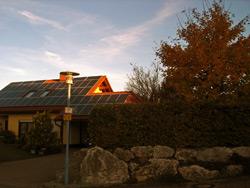 Auswirkungen Ahornbaum und Hecke auf Solaranlage High-Light