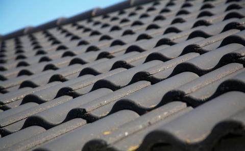 Roof Tile Closeup