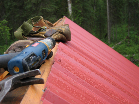 Installing a Metal Roof in Alaska