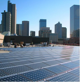 Solar Array in Denver – Colorado Convention Center