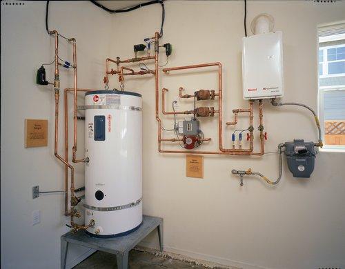 Solar Hot Water Storage