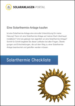 Solarthermie Checkliste herunterladen