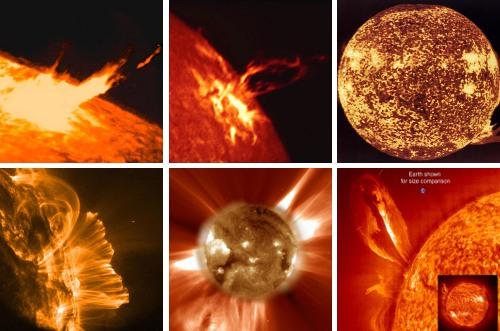 Sonnenenergie und Sonnenaktivität
