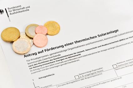 Antrag Solarthermie