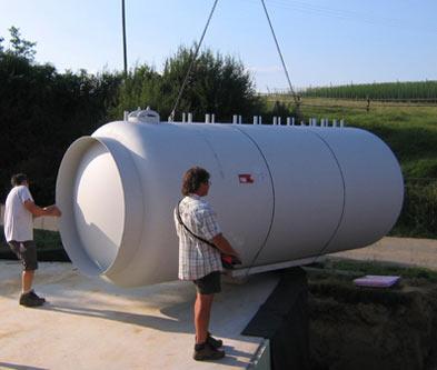 Solarthermie Großspeicher