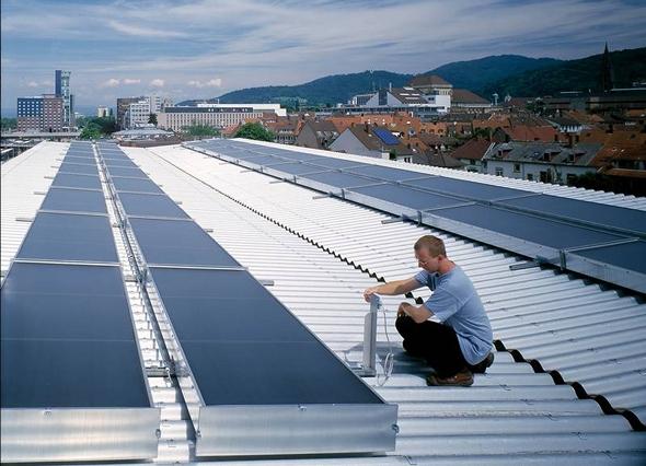 Solarthermie für Industrie und Gewerbe