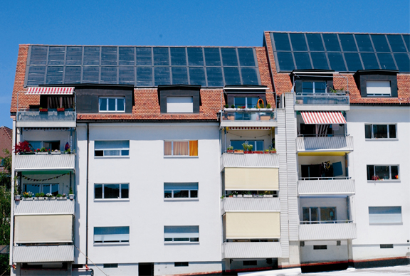 Solarthermie & Mehrfamilienhaus