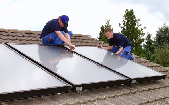 Solarthermische Anlage Förderung