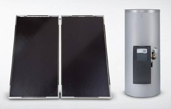Viessmann Trinkwasser Solarpaket