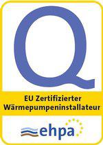 Eucert Zertifizierung Wärmepumpe