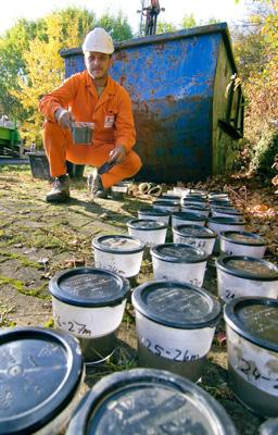Wärmepumpe Bodenproben